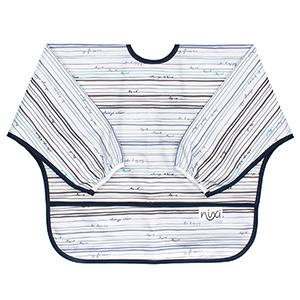 Bumkins Nixi Bib with Sleeves - Megan Garcia