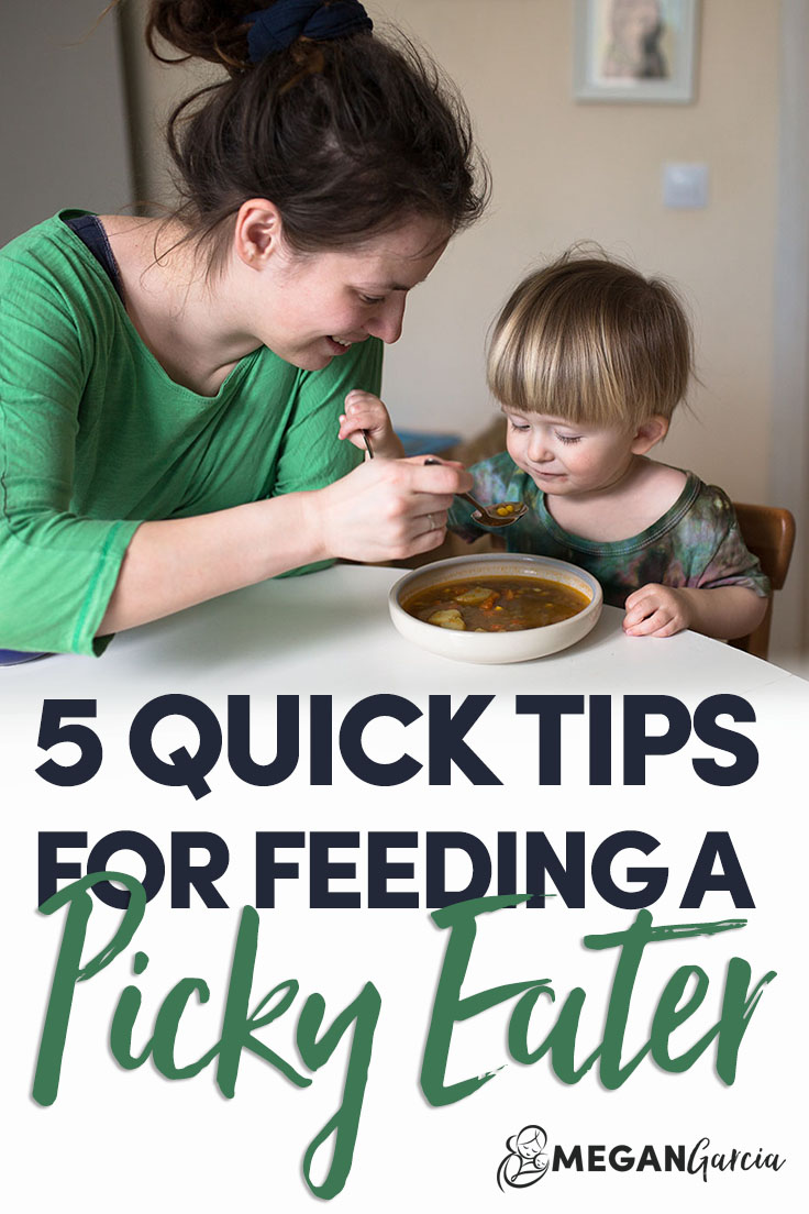 Five Quick Tips For Feeding A Picky Eater - Megan Garcia