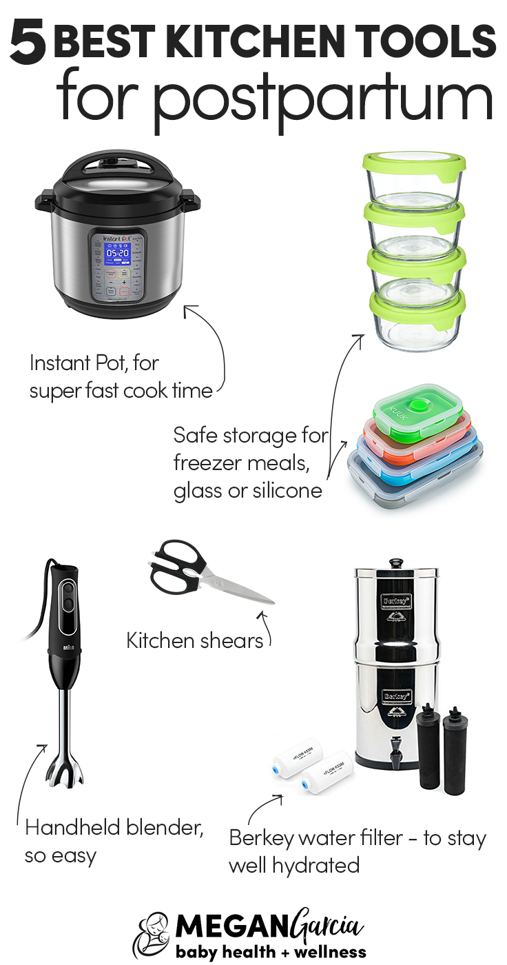 5 Best Kitchen Tools For Postpartum - Megan Garcia
