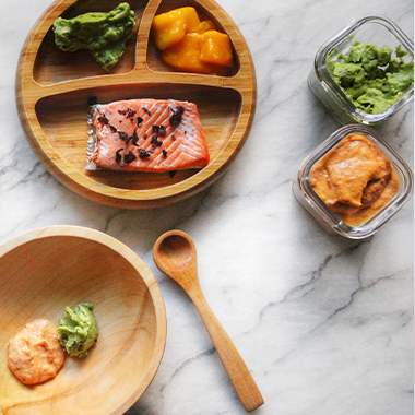 Salmon Mango Puree With Superfood Avocado, 6+ Months