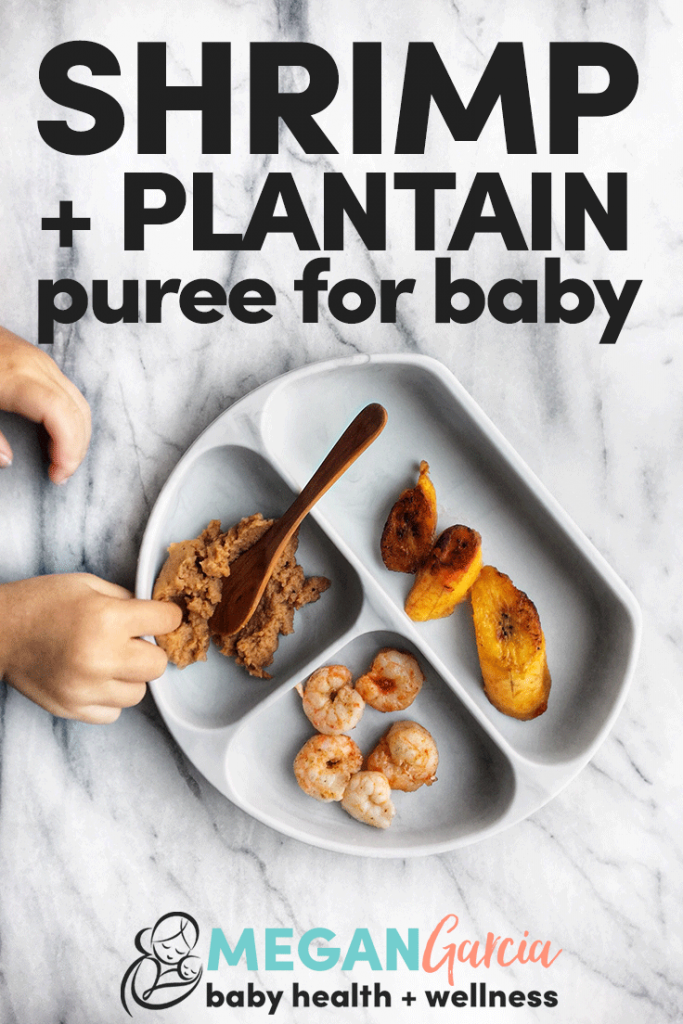 Shrimp Plantain Puree For Baby | Megan Garcia