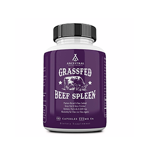 Ancestral Supplements Spleen | Megan Garcia
